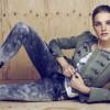 Наталья Водянова  для коллекции  Etam