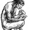 Пещерные люди умирали молодыми из-за глистов